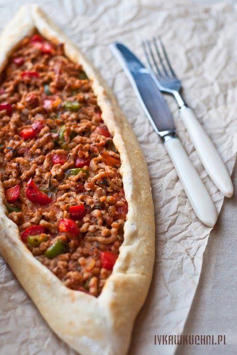 Przepisy I Fotografia Pide Turecka Pizza Food Pizza Vegetable Pizza