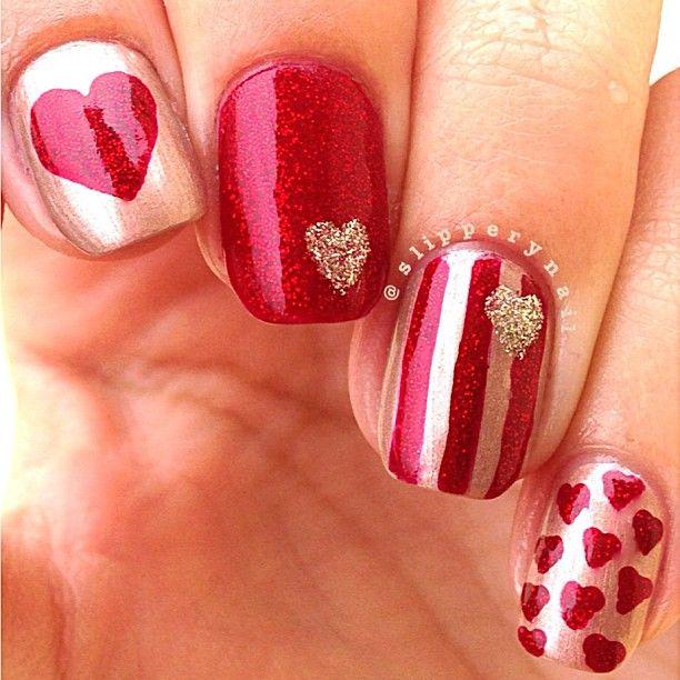 Nail Art Dan Extension Kuku: Instagram Photo By Slipperynail #nail #nails #nailart