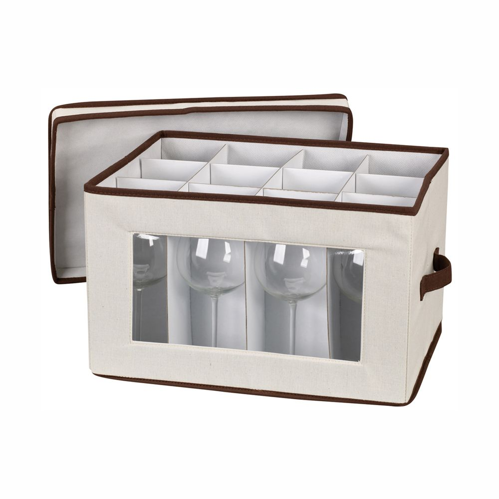 China Storage Case Balloon Stemware Chest Organize Com Stemware Storage Dinnerware And Stemware Storage Stemware
