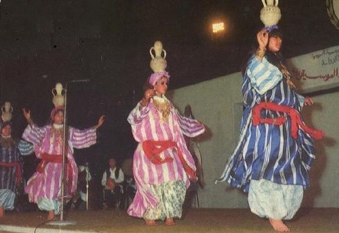 Traditional Dance Jar Dance Eastern Libya Traditional Outfits