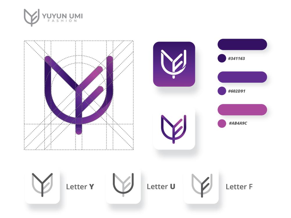 Yuyun Umi Fashion Branding & Logo Design in 2020