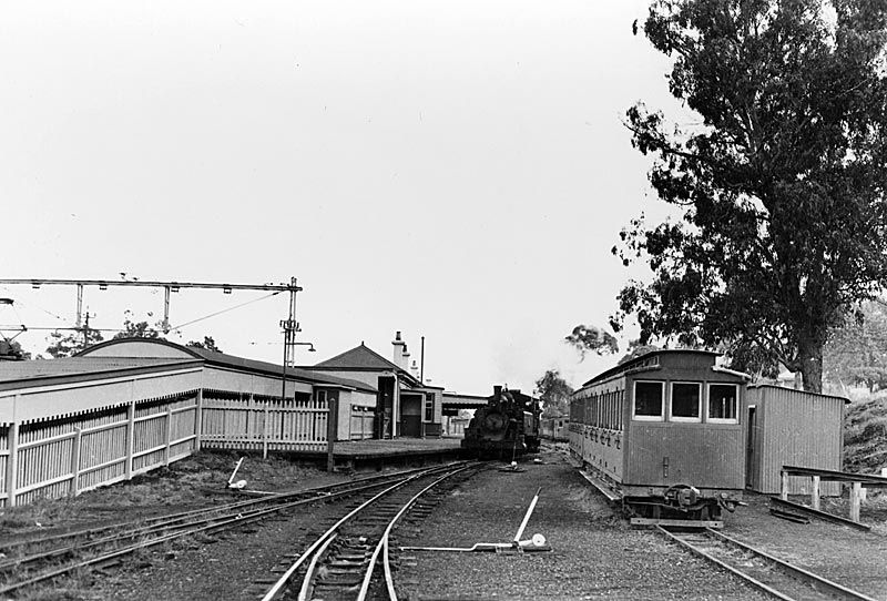 Until 1962 Upper Ferntree Gully Was The Change Of Gauge Station
