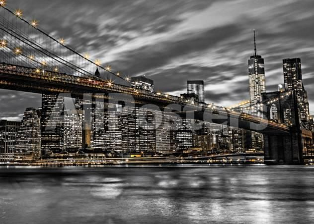 New york landscapes giant poster 140 x 100 cm