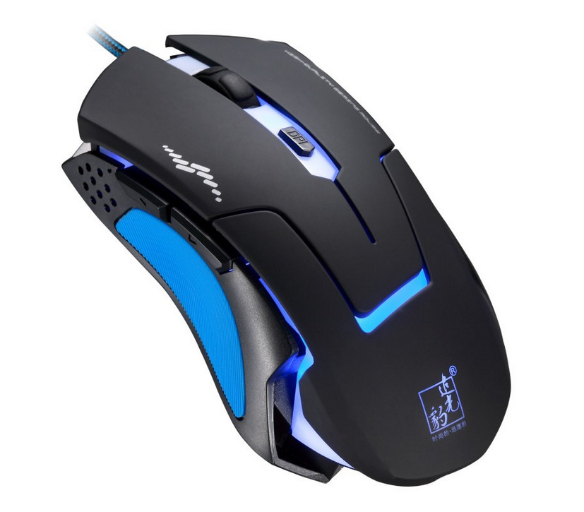 Colorful 2400dpi 6d Optical Usb Wired Lol Gaming Mouse Mice For Pc
