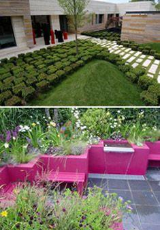 Style Ogrodowe Cz 6 Ogród Nowoczesny Newgreen Projektowanie