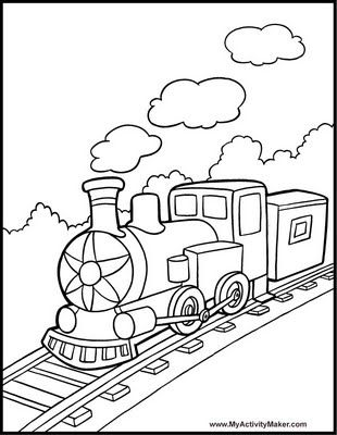 Funny Train Coloring Pages Train Coloring Pages Coloring Pages For Boys Free Coloring Pages