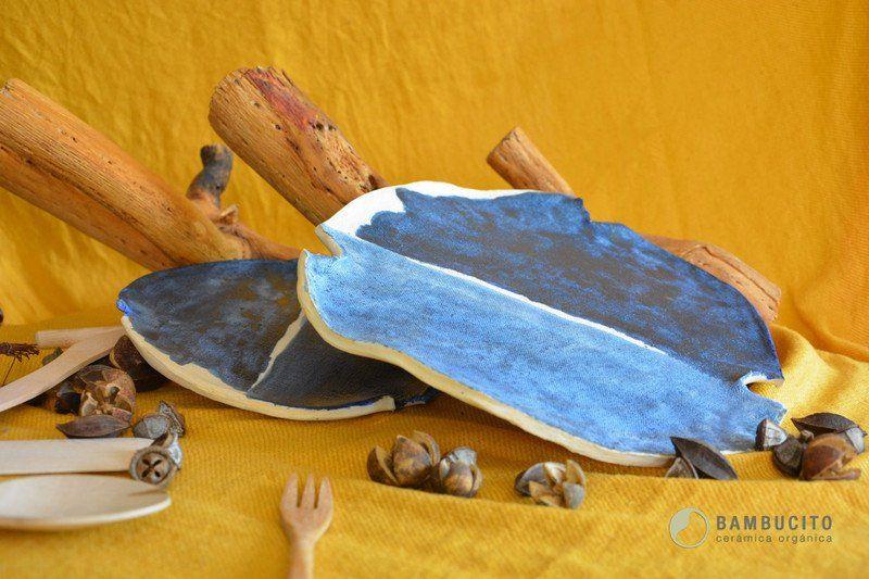 Platos - Set Mediterráneo - hecho a mano por paulacb en DaWanda