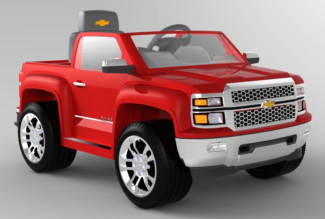 Camioneta A Batería Chevrolet - U$S 390,00