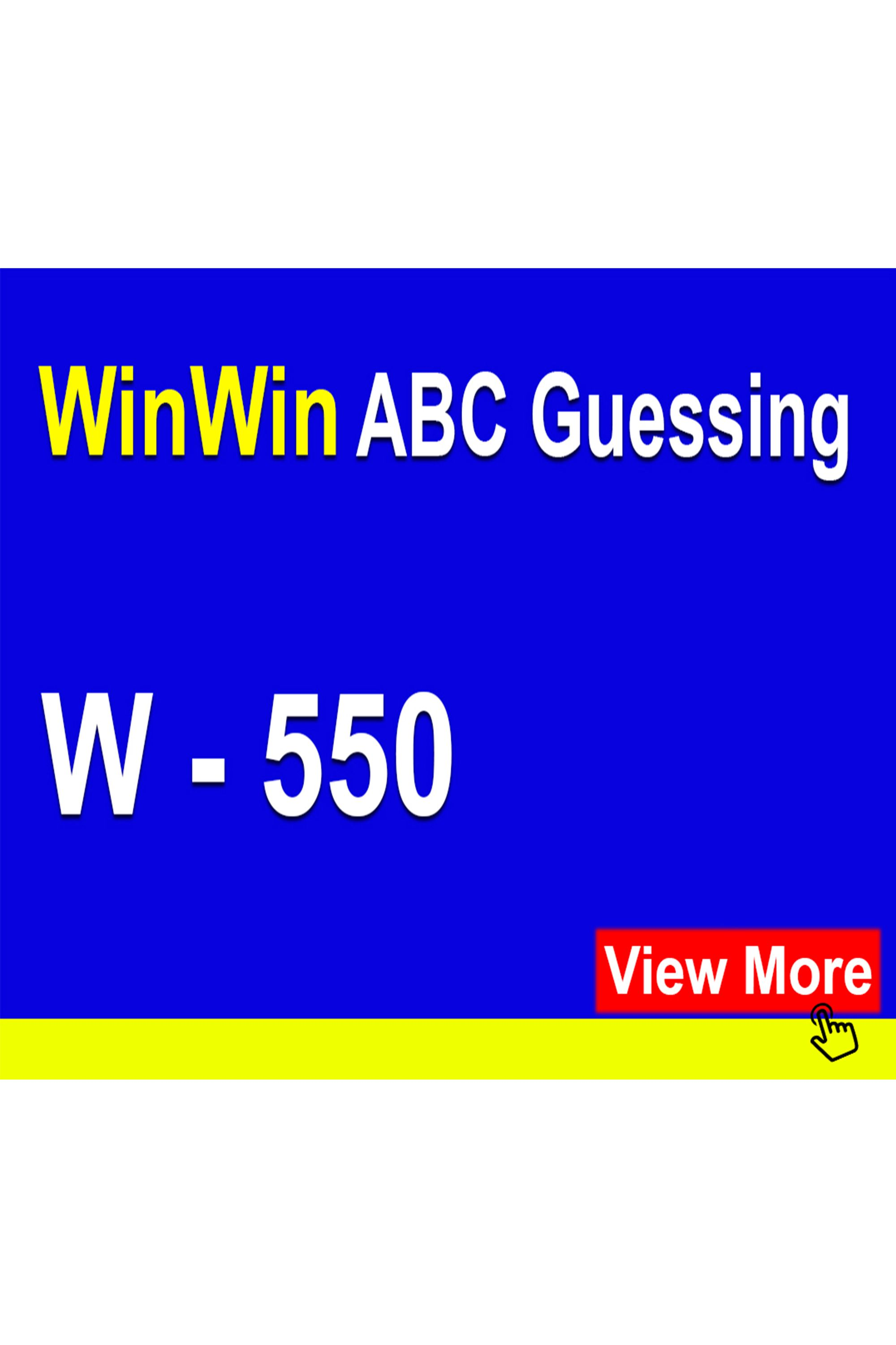 Winwin Lottery 3 Pick Guessing Numbers In
