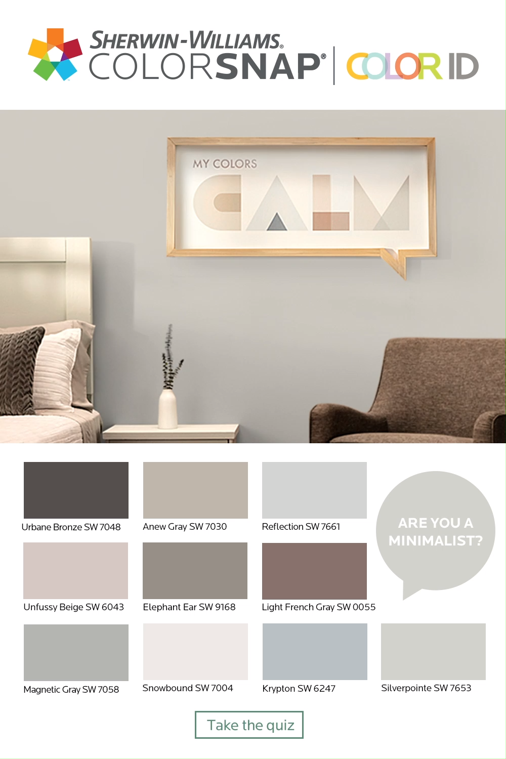 What S Your Color Id Take The Quiz To Find A Color Palette That Match Video Interior Paint Colors For Living Room Paint Colors For Living Room Paint Colors For Home