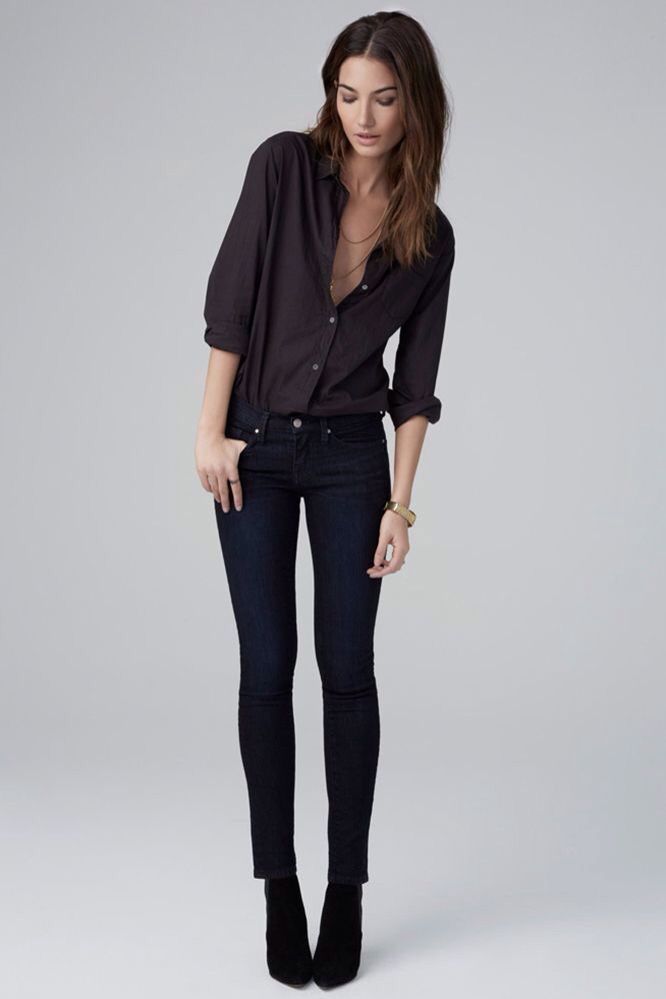 Black dress pants outfit 7 ginger