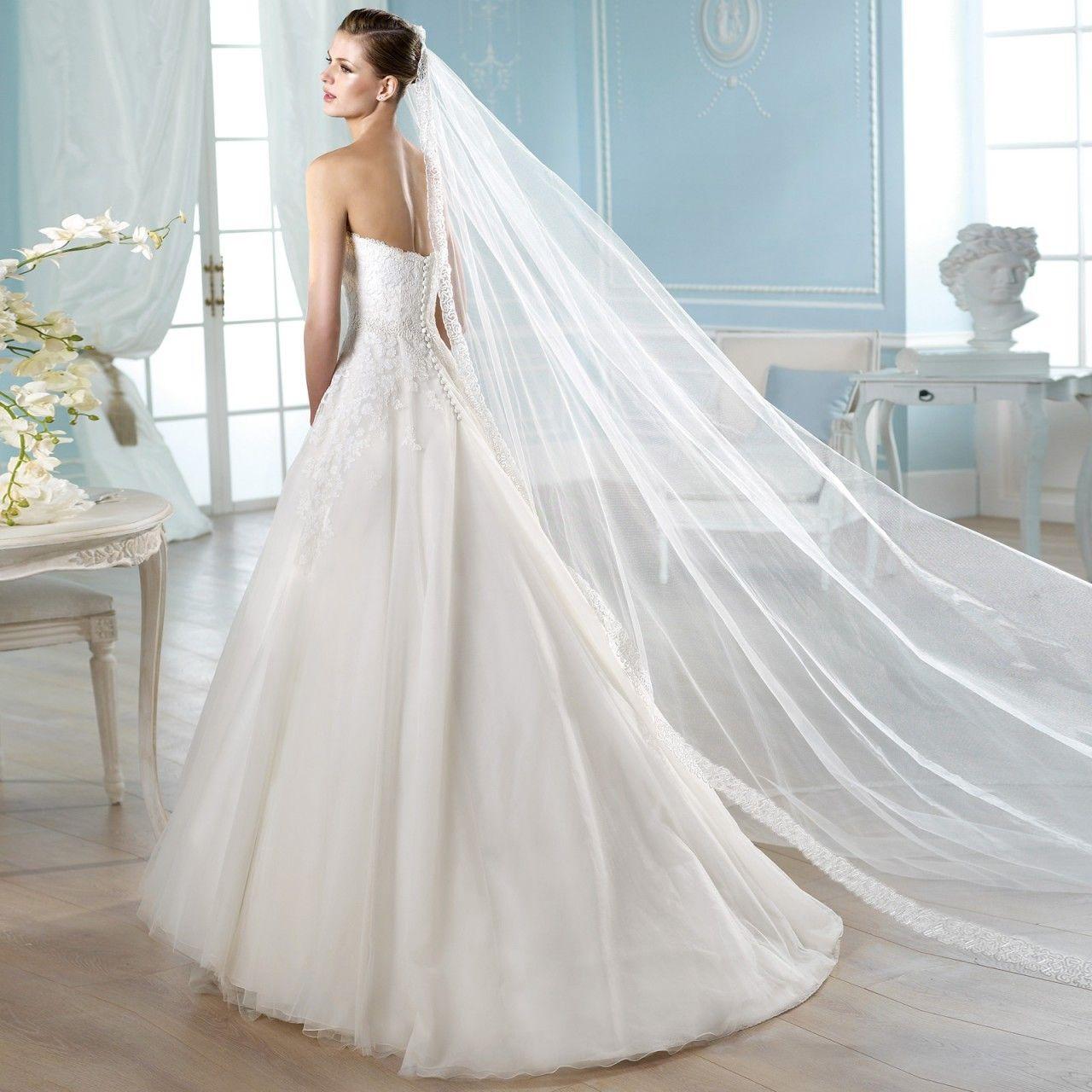 Fashionably Yours Hardoy ALine Lace Wedding Dress by