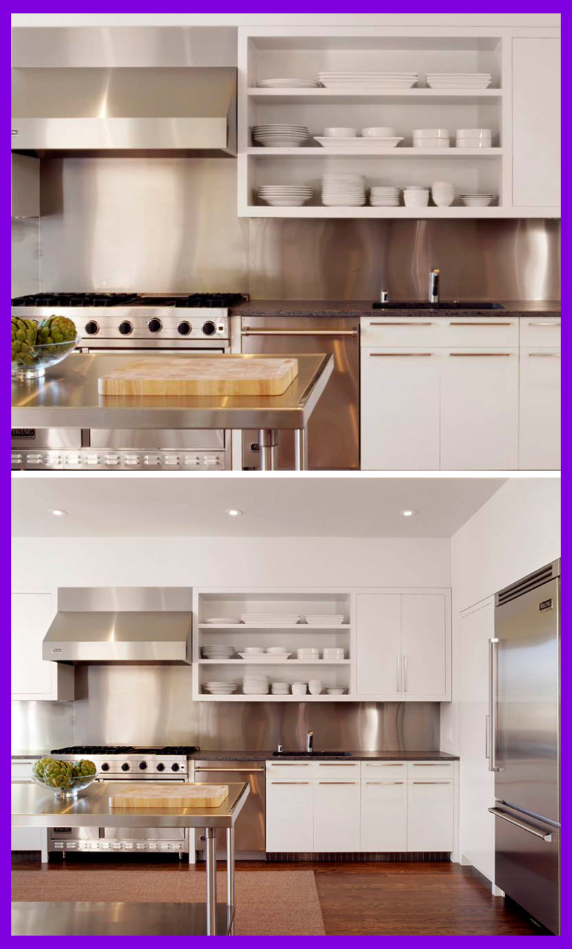 - Pros And Cons Of Stainless Steel Backsplash Stylish Kitchen
