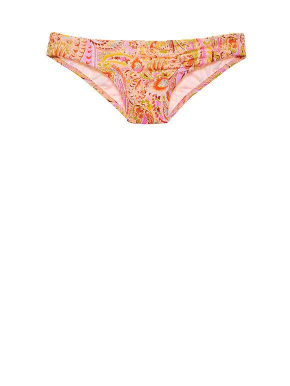 The Unforgettable Bikini Bottom - warm boho paisley foil