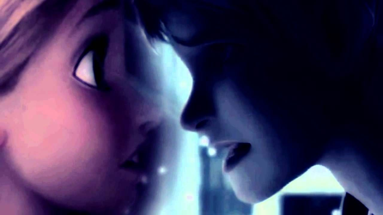Kiss Me Slowly ● Jack Frost + Rapunzel (It's a Disney/Dreamworks crossover. I normallly have never shipped these two, but this is sweet. <3 )