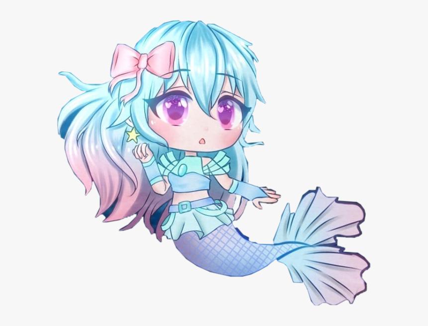 Gacha Mermaid Edit Cute Cottoncandygirl Gacha Mermaid Hd Png Download Anime Mermaid Mermaid Wallpapers Anime Scenery Wallpaper
