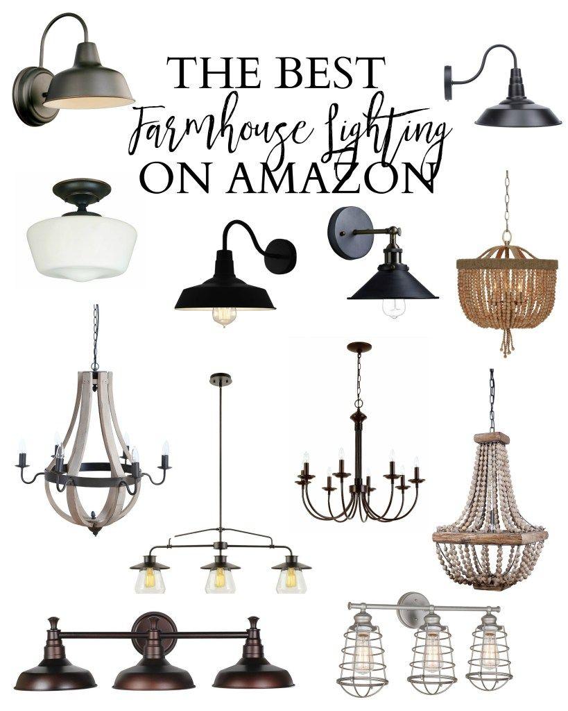 Home Best Farmhouse Lighting On Amazon Lauren Mcbride Farmhouse Dining Room Lighting Farmhouse Light Fixtures Dining Lighting
