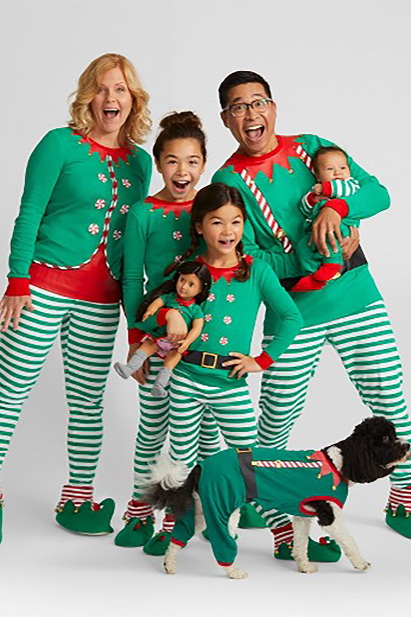 The Whole Family Obviously Needs Matching Christmas