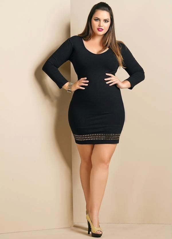 40 Pretty plus Size Outfits for Girls | Girls, Black and Fashion