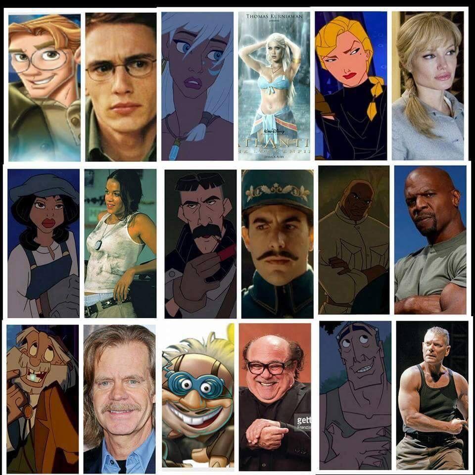 Possible Cast For A Live Action Atlantis Atlantis The Lost Empire Disney Live Action Movies Disney Memes