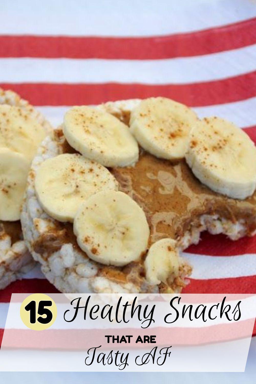 15 Healthy Snacks That Are Tasty AF images