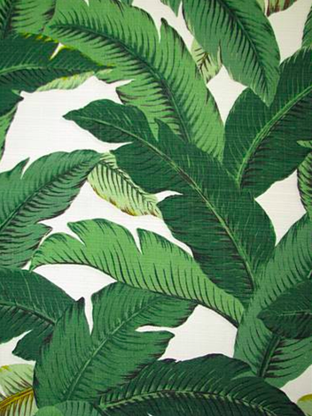 Tbo Swaying Palms Outdoor Aloe Bridal Fabric By The Yard