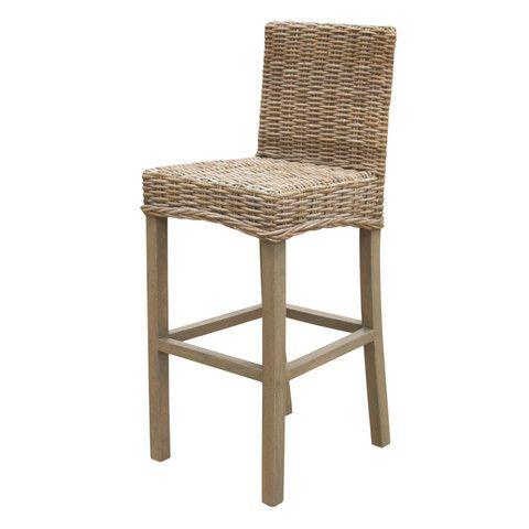 Kubu Coastal Barstool The Importer 195 Bar Stools Comfortable Dining Chairs Furniture