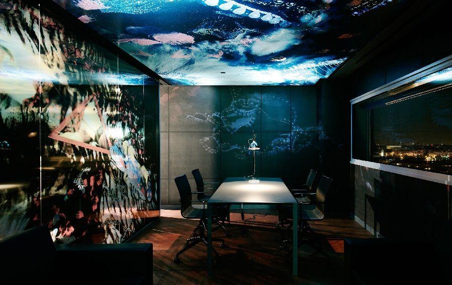 Hotel Design Silken Puerta America Interior Futuristic Like Fantasy World Amazing With