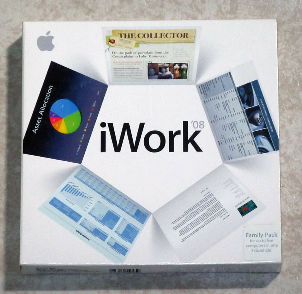 eBay #Sponsored Apple iWork '08 Family Pack -- Includes