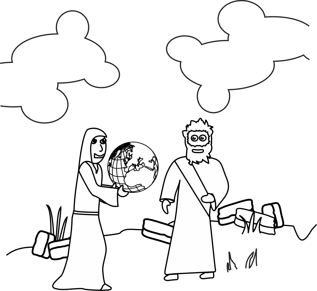 My Children's Curriculum: Jesus' Temptation | Jesus ...