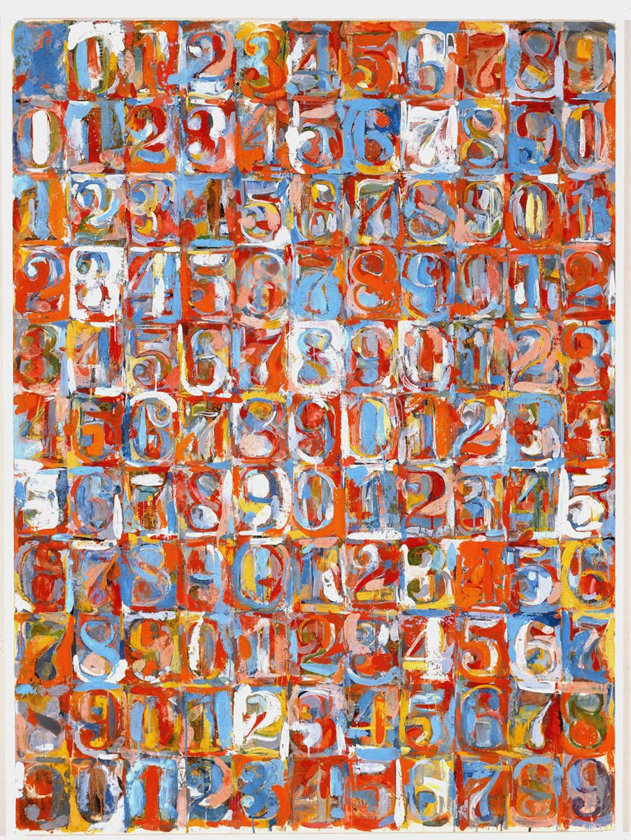 Three Flags by Jasper Johns, 1958. Displayed in Whitney Museum of ...