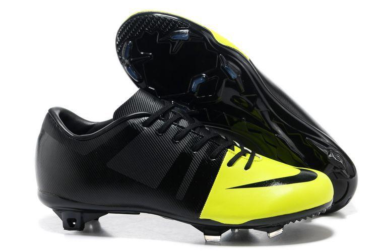 super popular 46335 59262 Volt-Black-Black Nike Green Speed GS FG