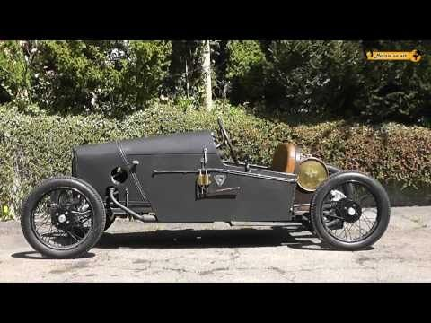 Demarcay von 1922 mit Anzani Motor 1000 ccm Rennwagen Racing Car Cyclecar