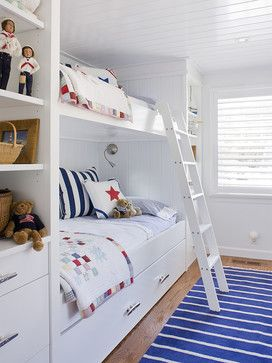 Seaside Style for Kids Bedrooms | Decorating Tips and Inspiration for Coastal Kids Rooms | Ginger & May