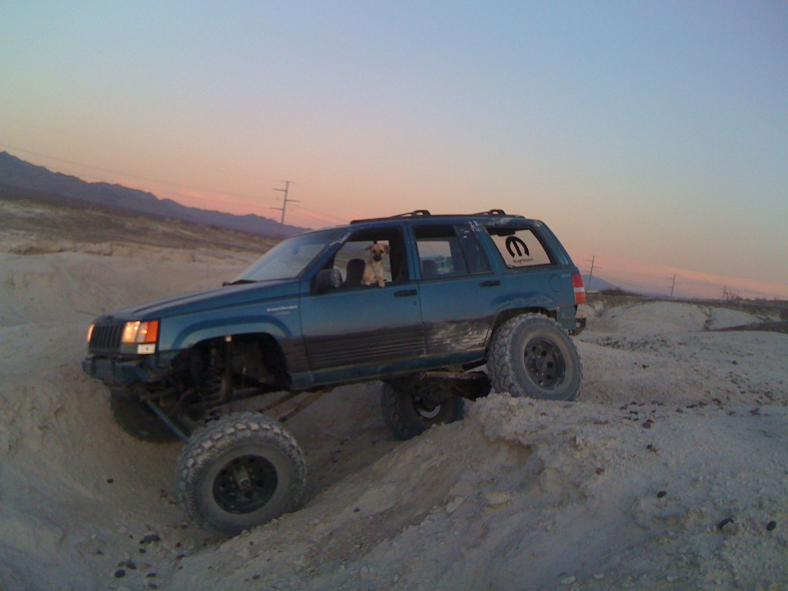 My Current Rig 1994 Grand Cherokee Zj V8 Clayton S Long Arms