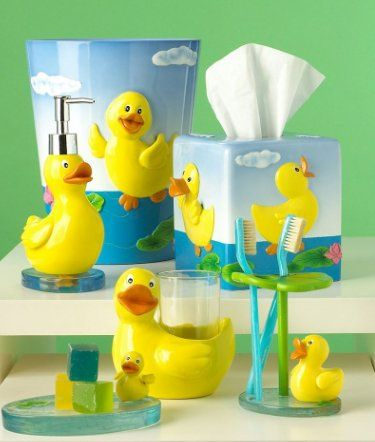 rubber ducks bathroom decor | Macy\'s Bath Accessories Collections ...