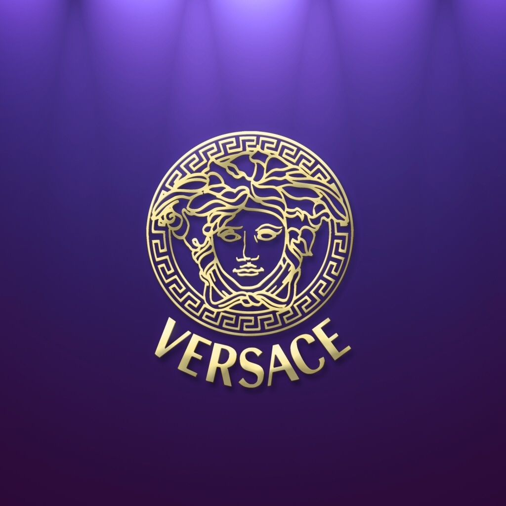 Versace Logo HD iPad Wallpaper 42100 05. Designer