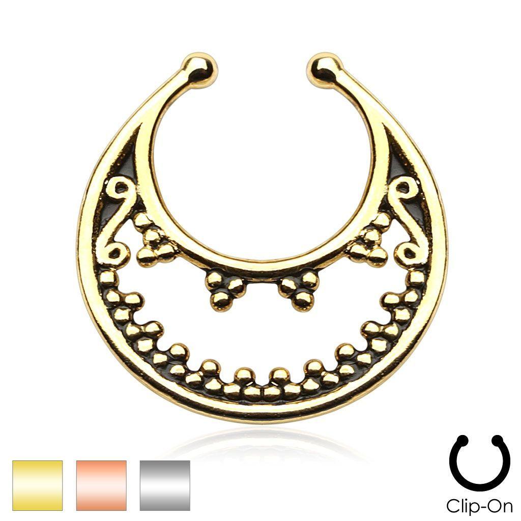 Luna Non-Piercing Septum Hanger
