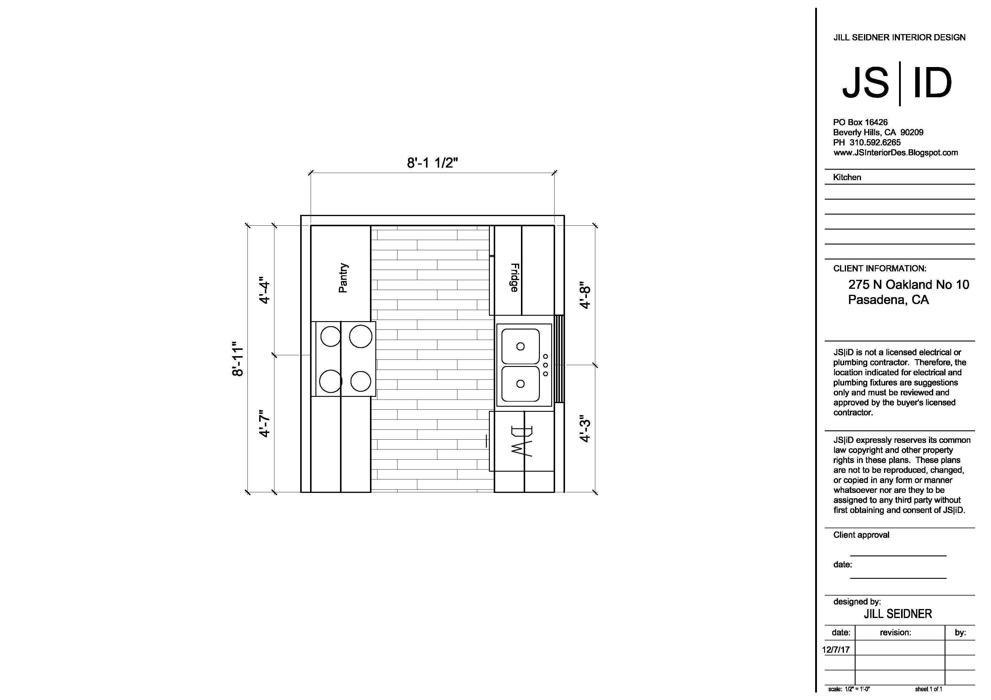 Pasadena ca tenant improvement project kitchen remodel plan drawings interiordesign also rh pinterest