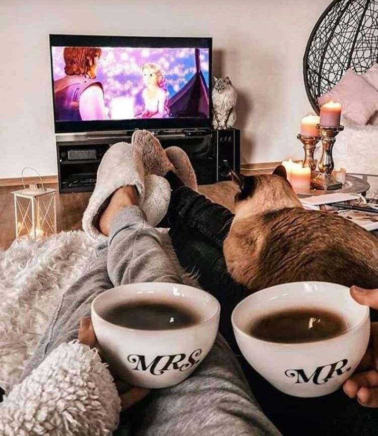 lazy sunday #weheartit #foundonweheartit #sunday #mrandmrs #wedding