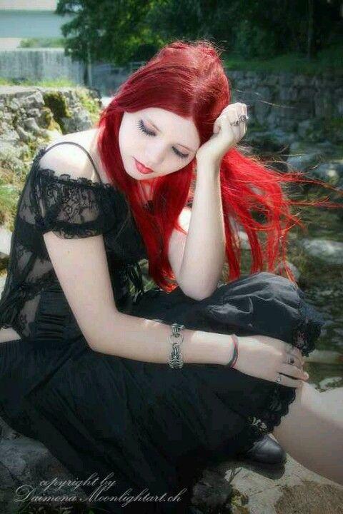 Think, gallery gothic redhead