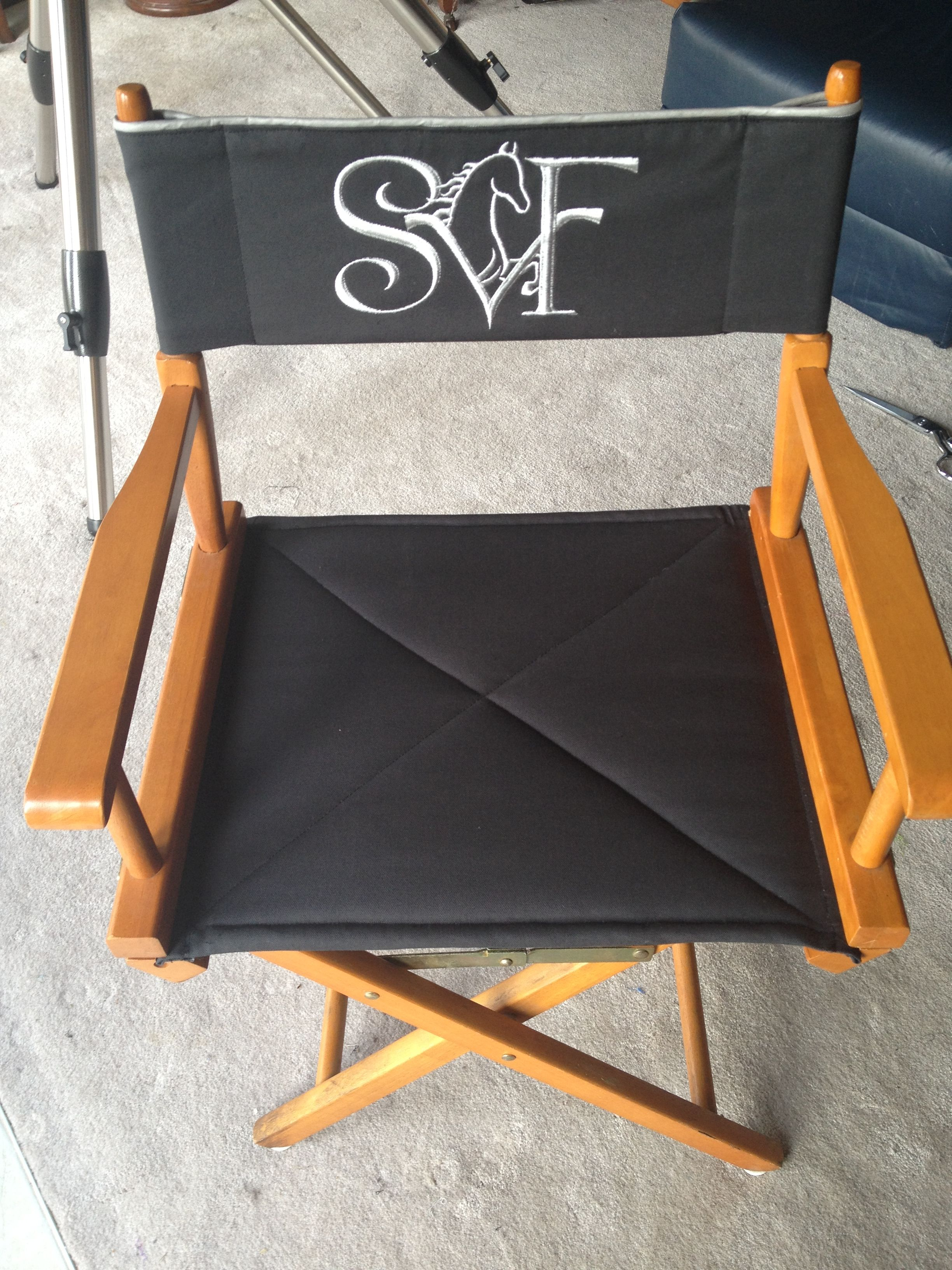 Personalized Directors Chair Custom Made Director S Chair Cover With Personalized Logo Brand