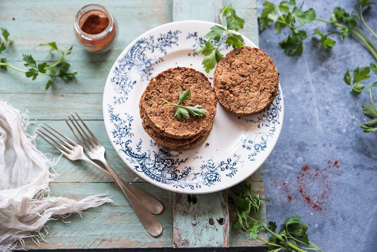 Burger di lenticchie, leggerezza e salute per un benessere totale