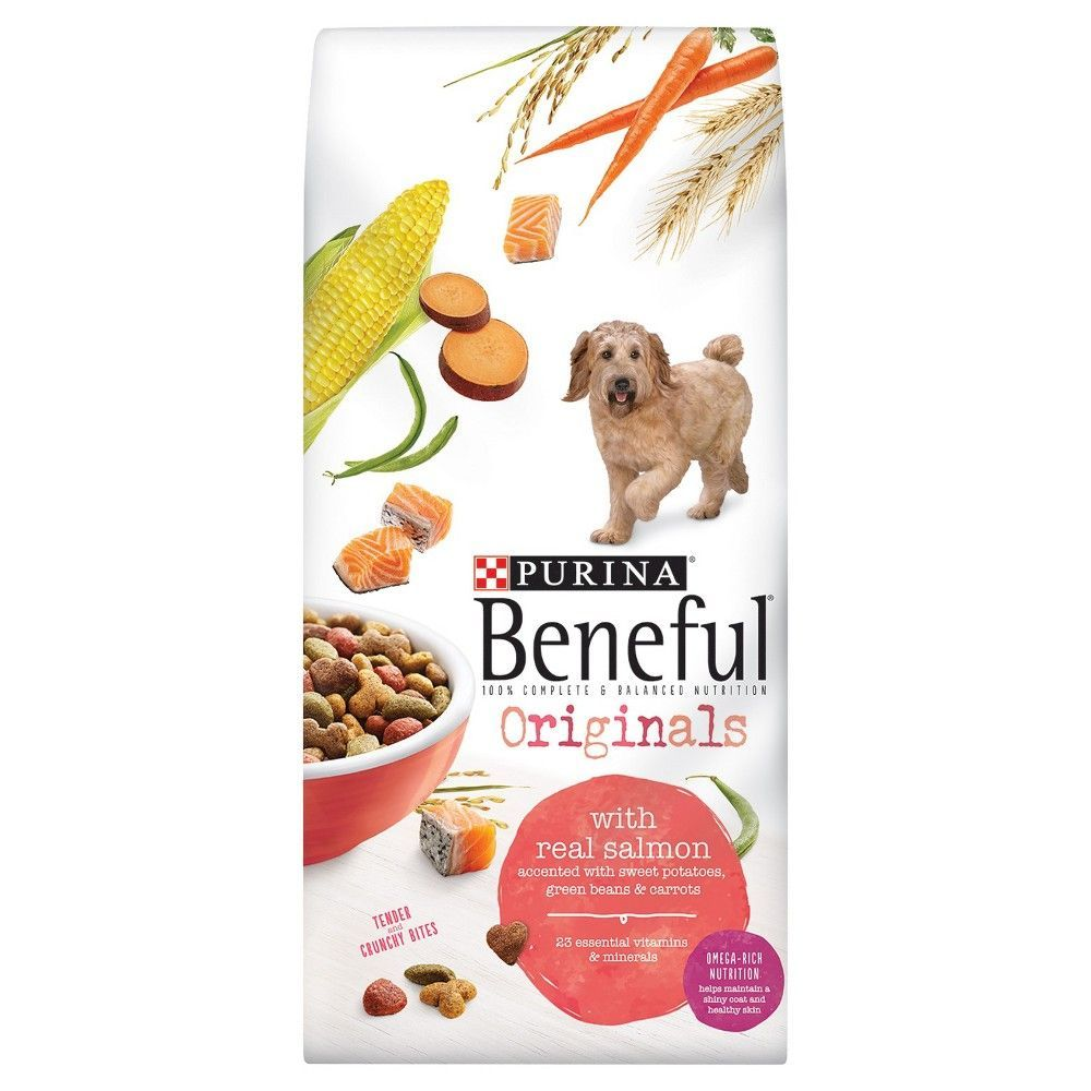 Purina Beneful Originals With Real Salmon Dry Dog Food 15 5 Lb