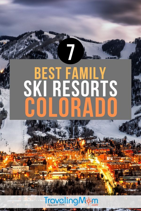 7 Family Friendly Ski Resorts in Colorado | TravelingMom 300 days of sunshine and 300