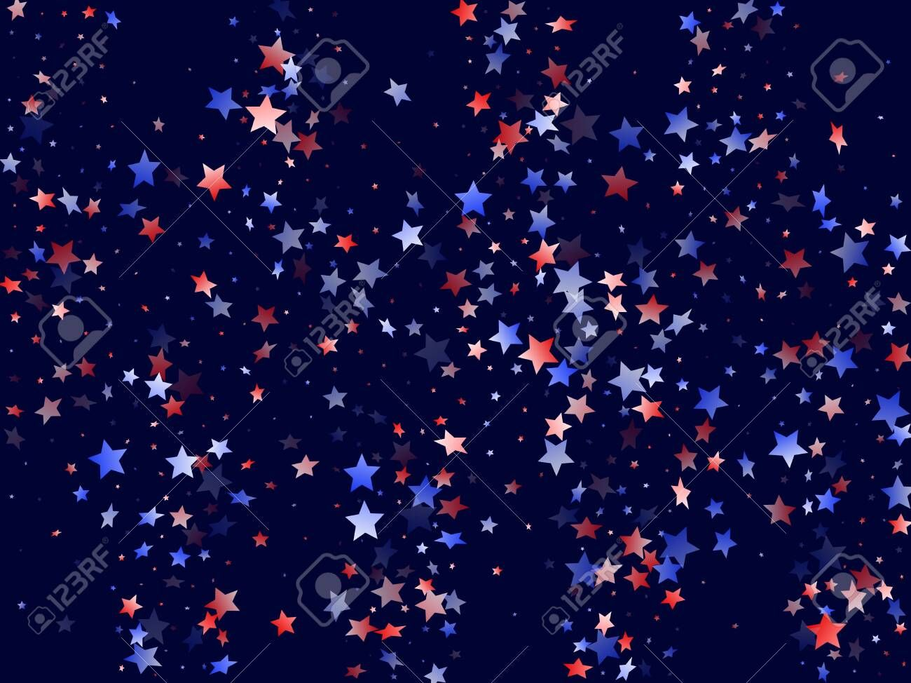 American Presidents Day Stars Background Confetti In Us Flag Colors For Independence Day Navy Red Blue White In 2020 Star Background Flag Colors American Presidents