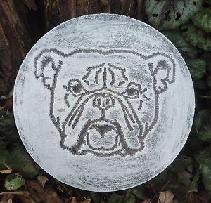 Eskimo dog mold garden ornament plaster concrete casting mould Plastic Husky