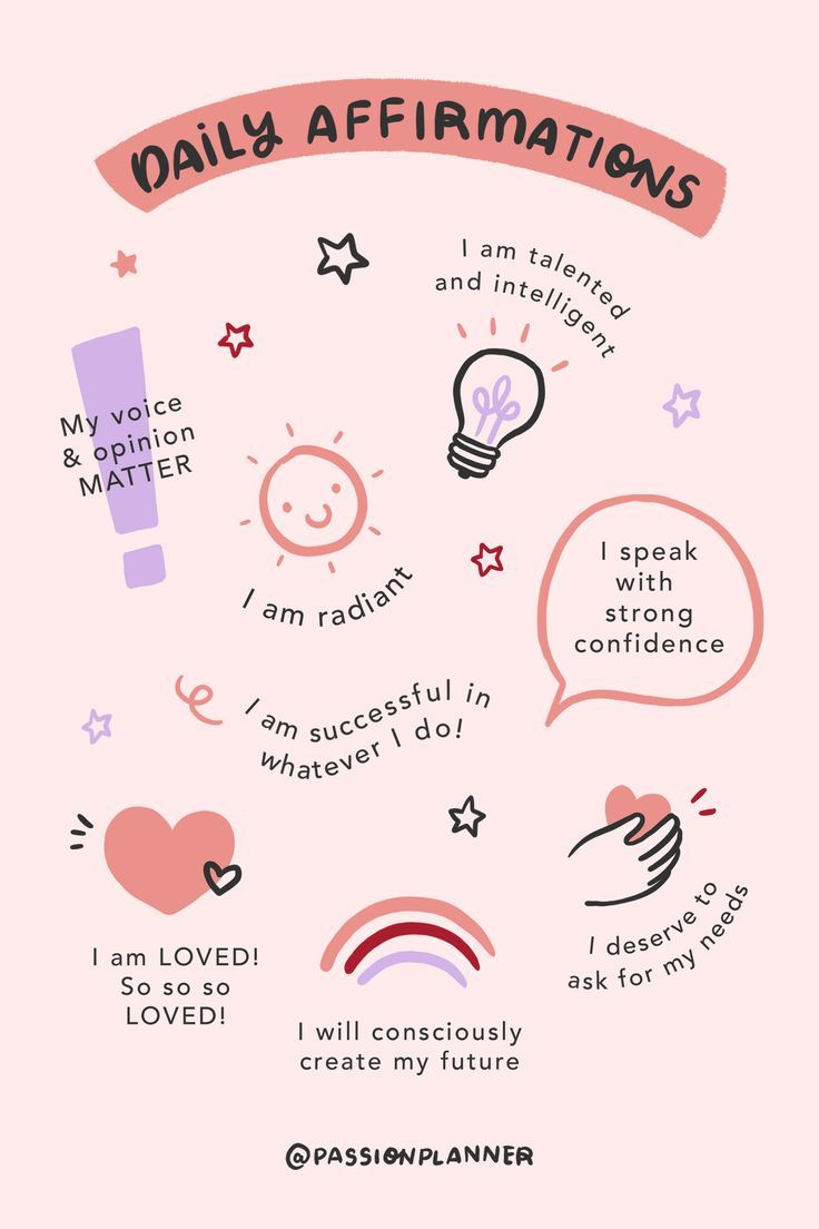 Daily Self-Love Affirmations in 2020 | Positive affirmations quotes, Positive self affirmations, Sel