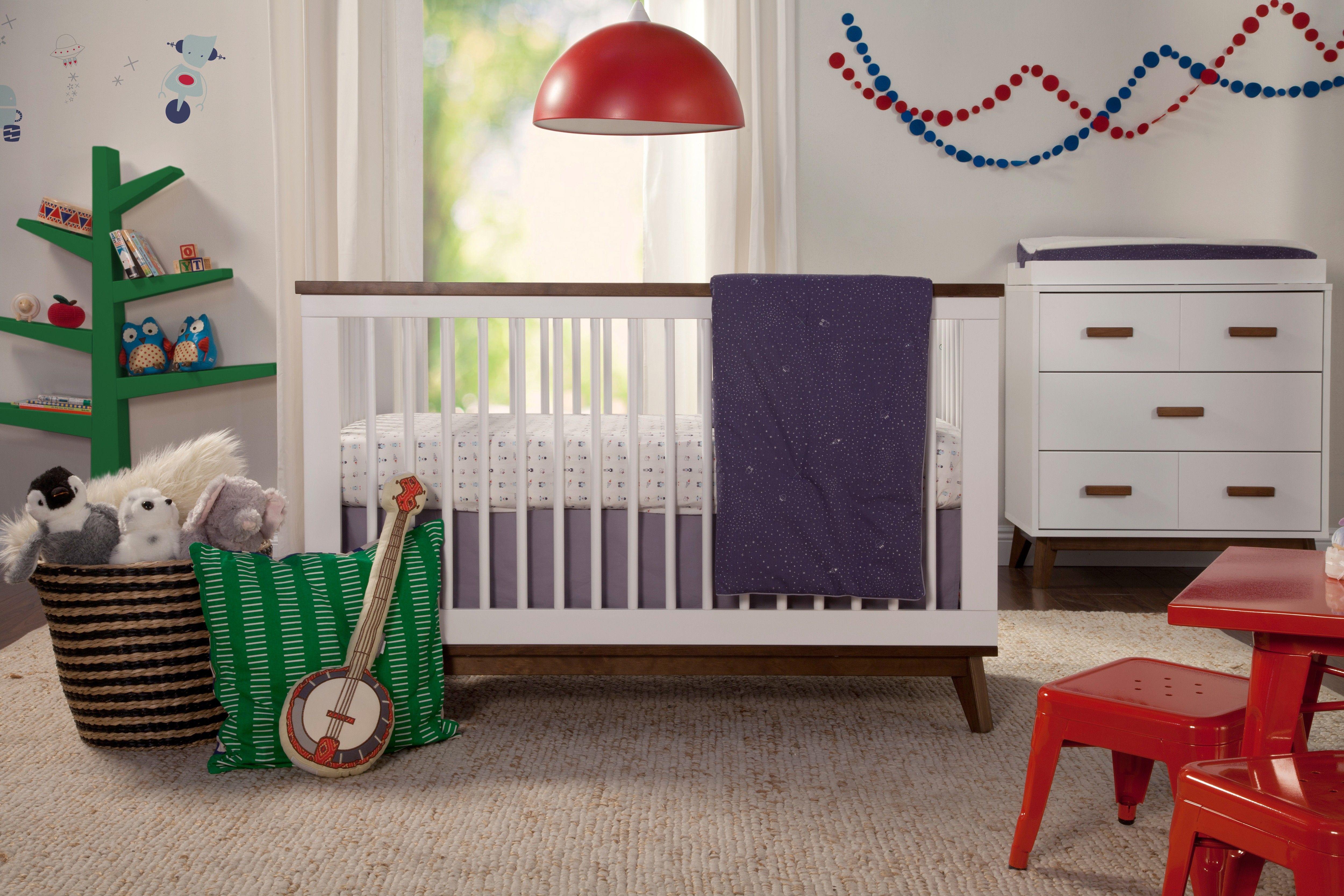 Babyletto Scoot Crib + Dresser Combo