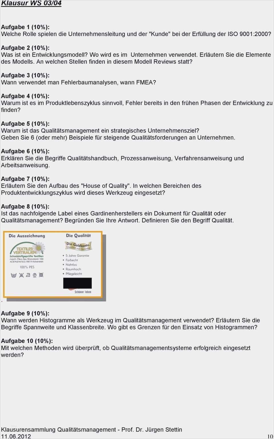 Vorlage Verfahrensweisung Blog Der Losungsfabrik